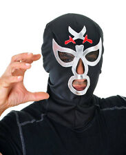 MACHO STAG DO WRESTLING MASK MENS LUCHA LIBRE NINJA MYSTERIO COSTUME HOOD NEW