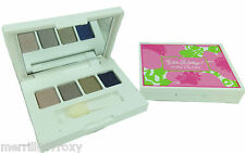 LILLY PULITZER FOR ESTEE LAUDER PURE COLOR QUAD EYE SHADOW COMPACT BROWN PURPLE
