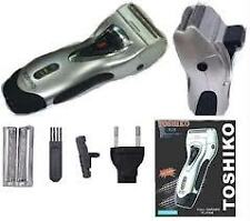 Toshiko/BRITE RECHARGEABLE SHAVER WITH TRIMMER for MAN