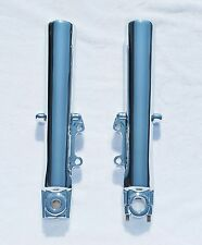 Harley Electra Glide Ultra Classic 00-13 Chrome Lower Slider Fork Legs Exchange