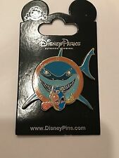 """Finding Nemo Dory Bruce Shark  Disney Pin """"Fish are Friends Not Food"""""""