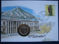 MDS EL SALVADOR  NUMISBRIEF - DIE BRIEFE DER NATIONEN (BOX B)