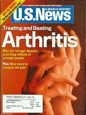 2005 U.S. News & World Report Magazine: Treating & Beating Arthritis/Marines