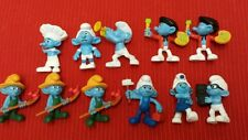 Smurf  Collectable Figures Peyo lot of 11 for McDonalds