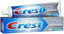 Crest Baking Soda & Peroxide Whitening Toothpaste Mint 8.2 oz -- 3 PACK