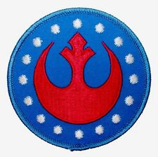 Star Wars New Republic Rebel Alliance Rogue Embroidered Iron On Patch 3.0""