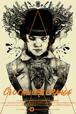 A Clockwork Orange Alt Movie Poster Mondo Artist Nikita Kaun No./95 NT Kurtz