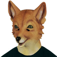 ADULT LATEX FOXY FOX MASK ZOO ANIMAL COSTUME RUBBER MASKS