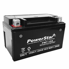 New Replacement for CT7B-4 Sealed AGM Battery Yamaha YFZ450 Zume 125 YW125 ATV