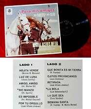 LP Miguel Aceves Mejia: Para Mis Amigos del Norte y del Sur (RCA LPM 10 055) D