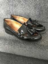 Office Topshop Black Loafers Shoes Size 4 37