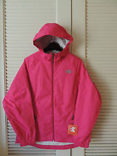 NORTH FACE PARE PASSION PINK WATER PROOF HOODED JACKET,  WOMENS LARGE ~NWT