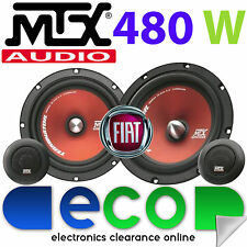 "Fiat Punto 1993-2005 MTX 6.5"" 480 Watts Component Kit Front Door Car Speakers"