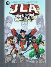 JLA Young Justice: World Without Grownups by Dezago & Ramos 1998 TPB DC OOP