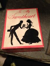 Vintage Too My Sweetheart My Heart Beats For You From 1957 Valentine's Day
