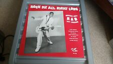 VINYL ROCK ME ALL NIGHT LONG V/A KATIE WEBSTER/JAY NELSON/TAL MILLER  LP RECORD