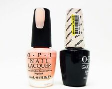OPI Nail GelColor Gel Color + Nail Polish Combo PASSION GCH19 + H19 ~2CT ~