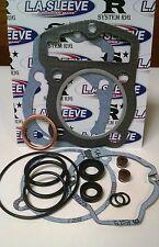 TOP END GASKET KIT HONDA ATC200 E,S,M,X '81-86 TRX200 '84 HEAD BASE VALVE SEALS