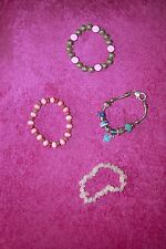 Four bracelets - great for young teenager