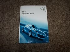 2013 Mazda2 User Guide Owner Manual Sport Touring 1.5L 4Cyl