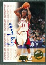 Cory Carr Basketball Auto 1998-99 Press Pass '98 Signature Autograph Signed Card