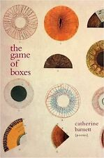 THE GAME OF BOXES Poems Catherine Barnett (2012) NEW paperback book