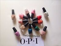 Brand New Genuine OPI NAIL POLISH Lacquer Color Popular Free Shipping On Sale