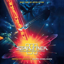 Star Trek VI - 2 x CD Complete Score - Limited Edition - Cliff Eidelman