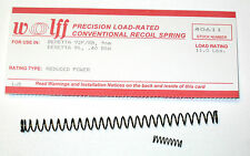WOLFF™ BERETTA 92 FS/B 9mm REPLACEMENT RECOIL SPRING, M9 11 pound reduced power