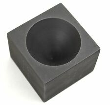 "GOLD CONICAL GRAPHITE INGOT CONE MOLD BLACK SAND IMPURITY SEPARATOR 2"" X 1.5"""