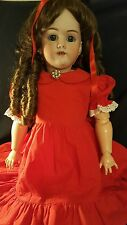 "28"" FINAL REDUCTION ANTIQUE #99 Handwerck Doll w/original body"