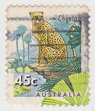 (DC124) 1994 AU 45c zoos with endangered species (G)