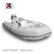 "10'6"" Yacht Series RHIB Inflatable Boat - Honda 20 Hp - Dingy, Sailing, Dive NEW"