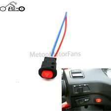 Motorcycle Emergency Hazard Warning  Fog Flash Light Switch Push Button ON/OFF