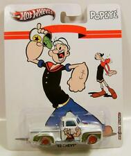 1952 '52 CHEVROLET CHEVY TRUCK PICKUP POPEYE HOT WHEELS DIECAST REAL RIDERS RR