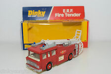 DINKY TOYS 266 ERF E.R.F. FIRE TENDER TRUCK WHITE LADDER MINT BOXED