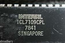 NOS Intersil  ICL7109CPL DIP40  Ship in USA tomorrow