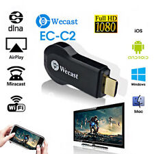 Miracast Wifi Display TV Dongle Receiver 1080P Wireless Chromecast AirPlay HDTV