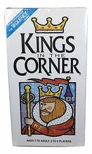 Kings In The Corner Board Card Game 1996 Ages 7 to Adult 2 to 6 Players New