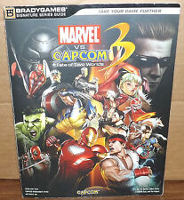 Marvel vs Capcom 3 Fate of Two Worlds Brady Games Signature Series Guide Book