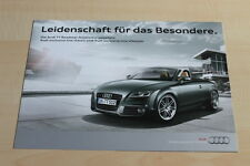 99376) Audi TT Roadster exclusive line lifestyle Prospekt 02/2011