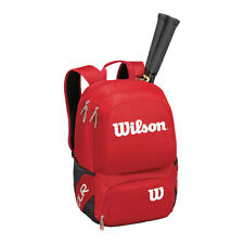 WILSON V TOUR RED  MEDIUM  TENNIS BACKPACK  2016 , IDEAL FOR TRAVEL GYM , PADEL