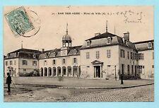 CPA BAR SUR AUBE - HOTEL DE VILLE ( AUBE TROYES )
