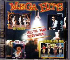 Oldie CD: Mega Hits, Words-Dolce Vita-Venus-Rain in May-Life is Life- +++