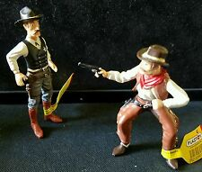 Plastoy Far West Wild Western Cowboy Figure Lot Sheriff Marshal Ranger Outlaw NW