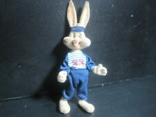 "Antique Vintage Bugs Bunny 6"" velour Toy - Stands - arms and legs move"