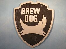 Beer Coaster ~*~ BREWDOG Brewery Craft Brewery    Ellon, Aberdeenshire, Scotland