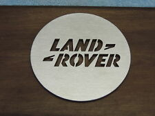BESPOKE LAND ROVER STAINLESS STEEL COASTER, LAND ROVER, DEFENDER, 90, DISCOVERY