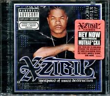 Weapons of Mass Destruction [PA] by Xzibit (CD, Dec-2004, Columbia) SEALED