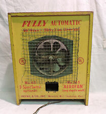 "SCARCE 1940's 50's COUNTER DISPLAY SALES SAMPLE PRYNE & CO ""AEROFAN"" EXHAUST FAN"